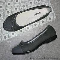 Стильные туфли с эмблемой chanel для девочки 32-37 размер