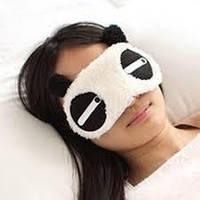 Маска для сна Панда мягкая