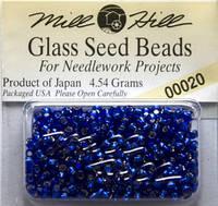 Бисер Mill Hill 00020, 11/0 Royal Blue Glass Beads