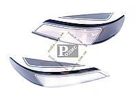 "Защита фар ""Spirit"" Opel Astra G Classic 1998-2009 - Защита фар Опель Астра Г Классик"