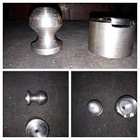 Шар диаметр 50 и верхняя площадка(опора) для гидроцилиндра 2птс-4