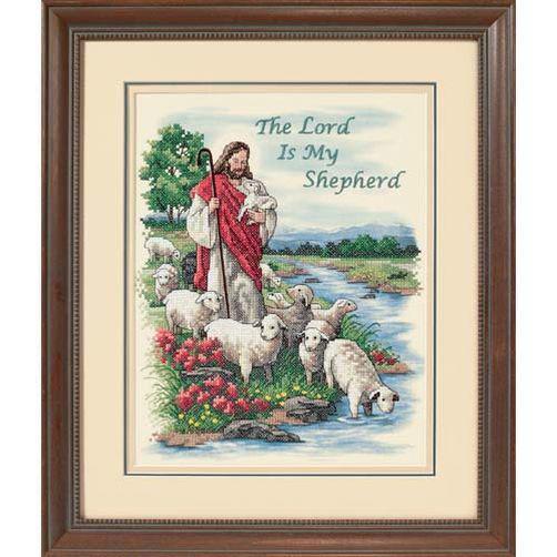 Набор для вышивания крестом Господь мой пастырь/The Lord is My Shepherd DIMENSIONS 03222
