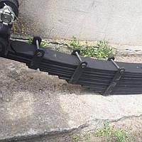 Рессора тракторного прицепа 2птс-4,КТУ на 14 листов серьгой