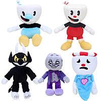 Мягкие игрушки из игры Cuphead