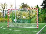 Стадіонні футбольні ворота HUDORA 300x200x110 см, фото 3