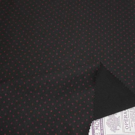 Трикотаж Алекс (джерси) принт D-4-3 черный, фото 2