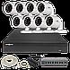 Комплект видеонаблюдения Green Vision GV-IP-K-L23/08 1080P, фото 2