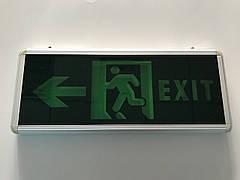 Аварийный светильник Exit, CATA/  б/у