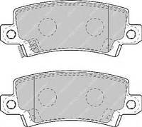 Тормозные колодки задние  Тойота AXIO/ALTIS/ Королла Combi/ Королла Wagon/ Королла/ RUNX (пр-во FERODO FDB1574)