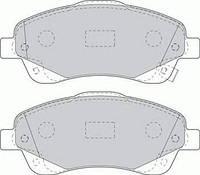 Тормозные колодки передние  Тойота AVENSIS/ AVENSIS Combi/ AVENSIS Station Wagon/ Королла Verso (пр-во FERODO FDB1648)