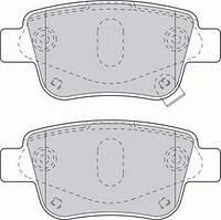 Тормозные колодки задние  Тойота ALPHARD II/ AVENSIS/ AVENSIS Combi/ AVENSIS Station Wagon (пр-во FERODO FDB1649)