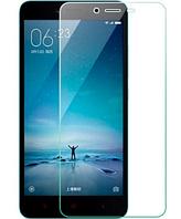 Прозрачное защитное стекло Xiaom Redmi 4a в упаковке