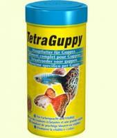 Tetra Guppy хлопья для всех видов гуппи, 100мл