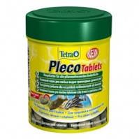 Tetra Pleco Tablets таблетки для любых видов травоядных донных рыб, 120таб