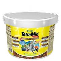 TetraMin XL Flakes крупные хлопья для всех видов тропических рыб, 10 л