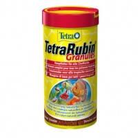 TetraRubin Granules гранулы для усиления естественной окраски рыб, 250мл
