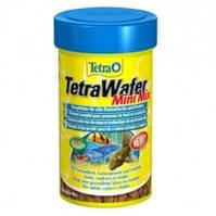 TetraWafer Mini Mix мини пластинки для всех донных рыб и ракообразных, 100мл