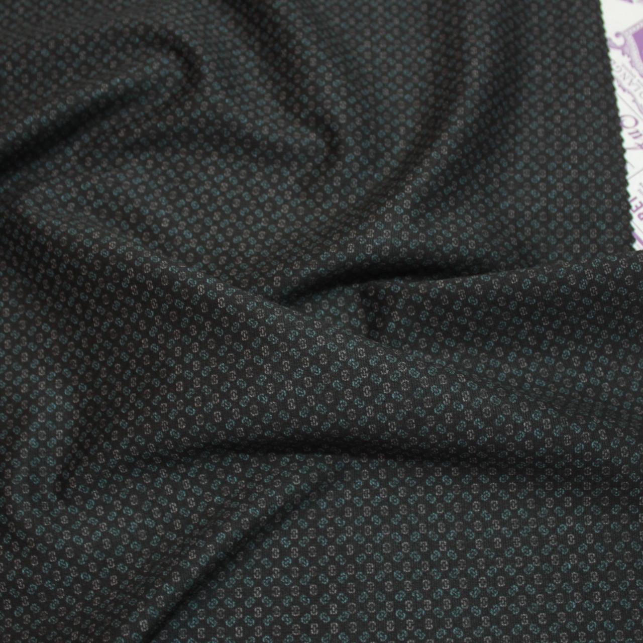 Трикотаж Алекс (джерсі) принт D-5-4 чорний