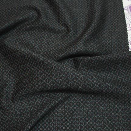Трикотаж Алекс (джерсі) принт D-5-4 чорний, фото 2