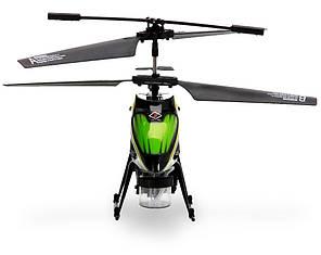 Вертолёт на радиоуправлении 3-к WL Toys V757 BUBBLE мыльные пузыри (зелёный), фото 2