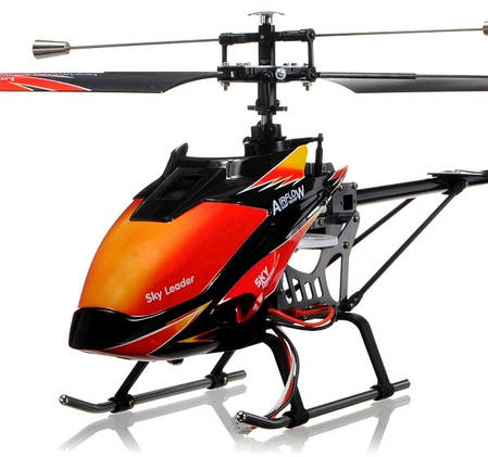 Вертолёт на радиоуправлении 4-к большой WL Toys V913 Sky Leader, фото 2