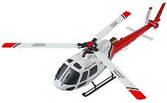 Вертолёт 3D на радиоуправлении микро WL Toys V931 FBL бесколлекторный (красный)