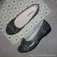 Стильные туфли Calorie для девочки 32-37 размер