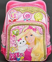 Ортопедический рюкзак для девочки Барби