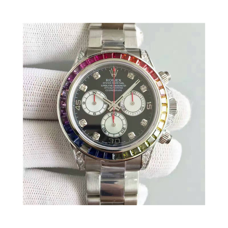 Rolex Cosmograph Daytona Steel-Steel Diamond