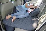 Надувной матрас-кровать в машину Fuloon Car Bed на заднее сиденье + 2 подушки в подарок, автокровать , фото 2
