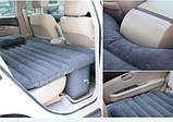Надувной матрас-кровать в машину Fuloon Car Bed на заднее сиденье + 2 подушки в подарок, автокровать , фото 3