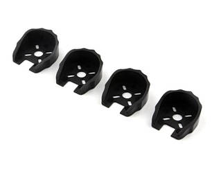Защита моторов 22xx для FPV мультикоптеров 4шт (черный), фото 2