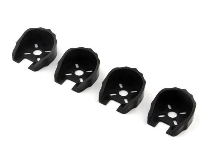 Защита моторов 22xx для FPV мультикоптеров 4шт (черный)
