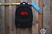 Городской рюкзак черный Вэнс / Vans портфель мужской
