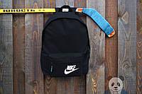 Рюкзак NIKE черный |  НАЙК |  городской |  портфель |  реплика