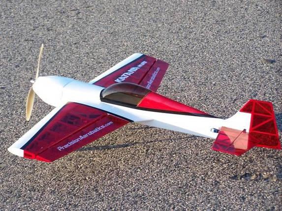 Самолёт р/у Precision Aerobatics Katana Mini 1020мм KIT (красный), фото 2