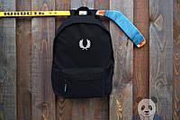 Черный рюкзак ФП |  FRED PERRY |  городской |  реплика |  портфель