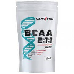 Аминокислоты BCAA 2:1:1 (250 г) Vansiton