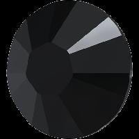 Камни Swarovski клеевые горячей фиксации 2038 Jet (280)