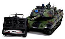Танк р/у 2.4GHz 1:16 Heng Long Leopard II A6 с пневмопушкой и дымом (HL3889-1), фото 3