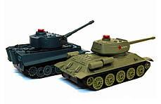 Танковый бой р/у 1:32 HuanQi 555 Tiger vs Т-34, фото 3