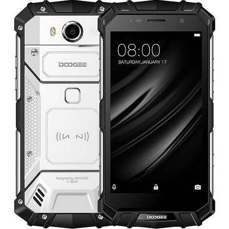 Смартфон ORIGINAL Doogee S60 Lite Silver (8X1.5Ghz; 4Gb/32Gb; 16MP/8MP; 5580mAh)