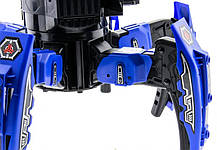 Робот-паук радиоуправляемый Keye Space Warrior с ракетами и лазером (синий), фото 2
