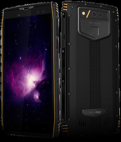 Смартфон ORIGINAL DOOGEE S50 Orange (8Х2.3Ghz; 6Gb/128Gb; 16+13МР/16+8МР; 5180 mAh)