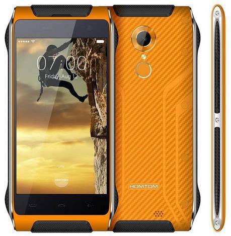 Смартфон ORIGINAL Doogee HOMTOM HT20 Pro Orange (8Х1.3Ghz; 3Gb/32Gb; 16.0MP/8МР; 3500 mAh)