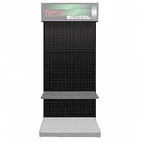 Стенд выставочный, часть1 (панель, 920х450х2100мм, цвет черный) TOPTUL TDAD2192