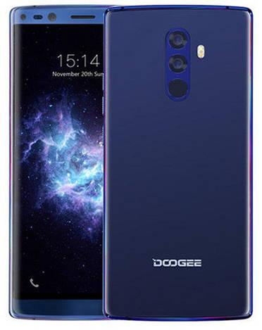 Смартфон ORIGINAL Doogee MIX 2 Blue (8Х2.5Ghz; 6Gb/64Gb; 16+13МР/8+8МР; 4060 mAh)