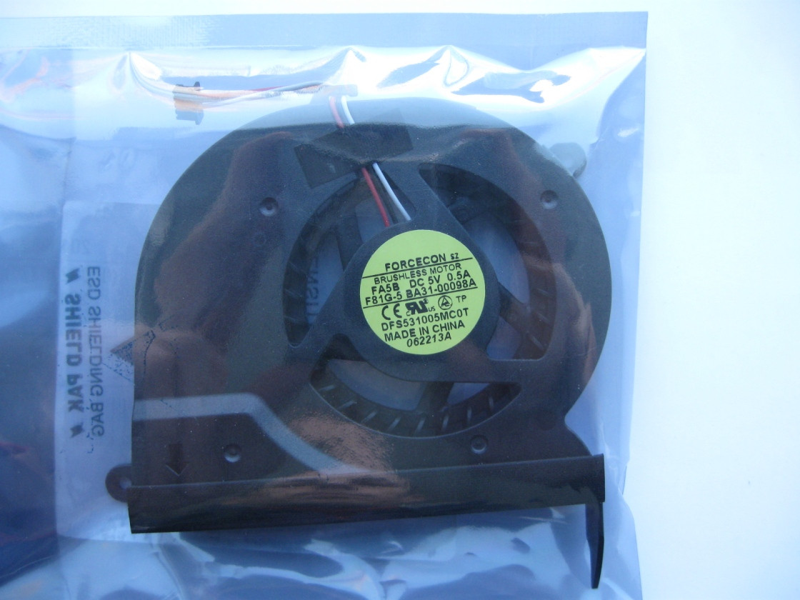Вентилятор охлаждения для ноутбука Samsung
