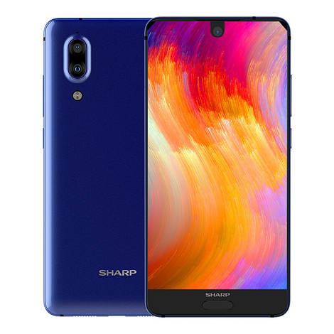 Смартфон ORIGINAL Sharp FS8010 Aquos S2 Blue (8Х2.2Ghz; 4Gb/64Gb; 12МР+8.0MP/8МР; 3020 mAh)