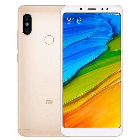Смартфон ORIGINAL Xiaomi Redmi Note 5 Pro Gold (8Х1.8Ghz; 6Gb/64Gb; 12МР+5МР/20МР; 4000mAh)